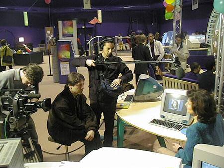 Interview pour Culture Pub équipe de 3