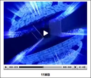 Globe en animation 2D