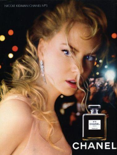 Pub Nicole Kidman pour Chanel 5
